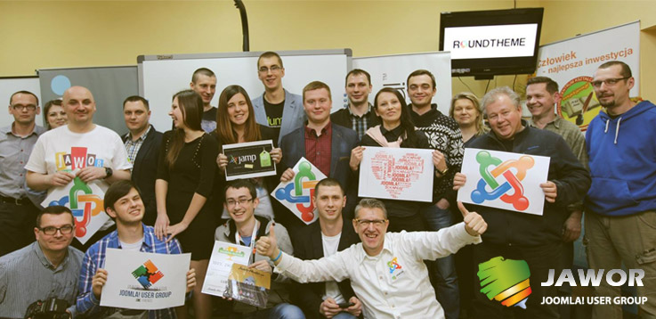 Joomla User Group in Jawor, Poland