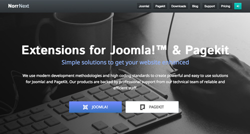 Extensions for Joomla and Pagekit