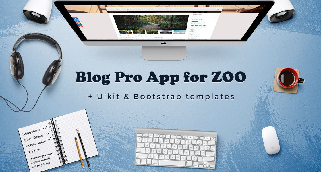 Blog Pro App for ZOO CCK