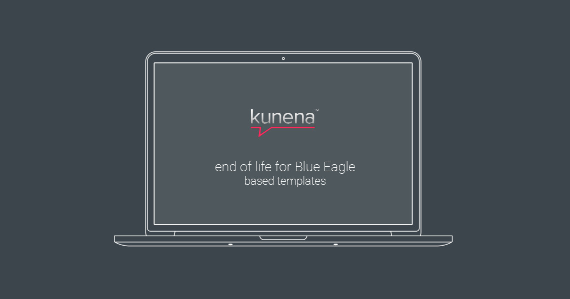 Kunena: End of Life for Blue Eagle based templates