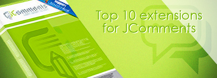 Top 10 extensions for JComments