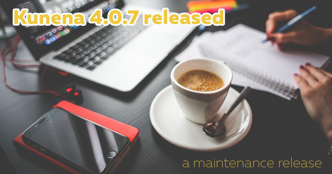Kunena 4.0.7 released