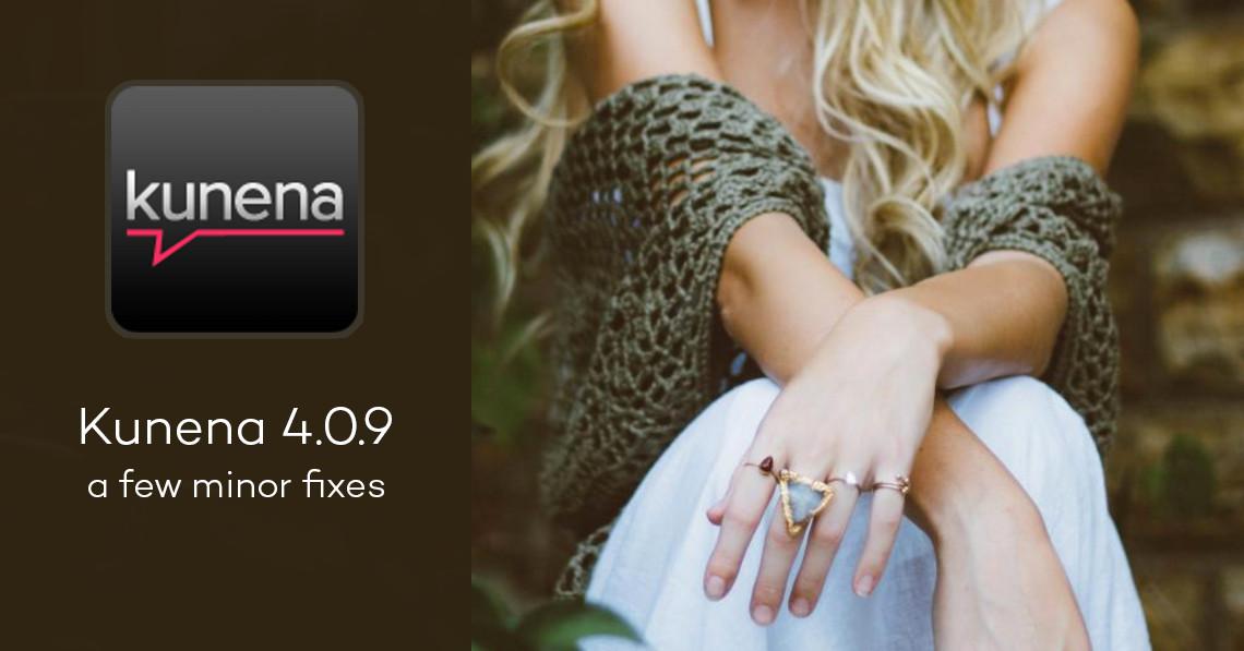 Kunena 4.0.9: a few minor fixes
