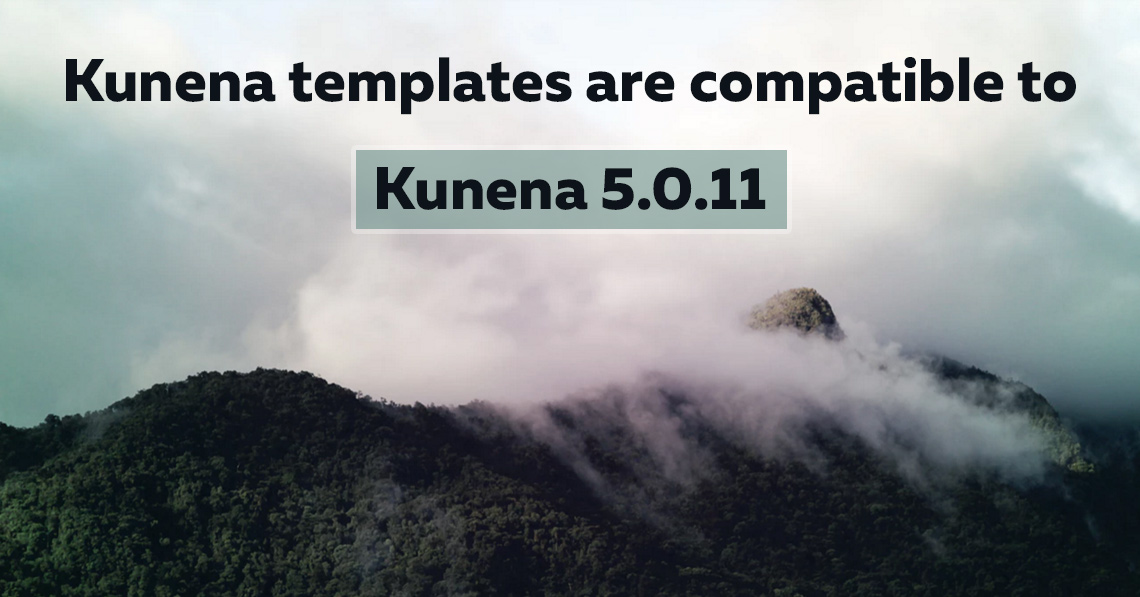 Kunena templates are compatible to Kunena 5.0.11
