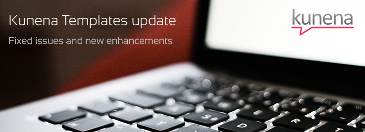 Kunena templates update: fixed issues and new features