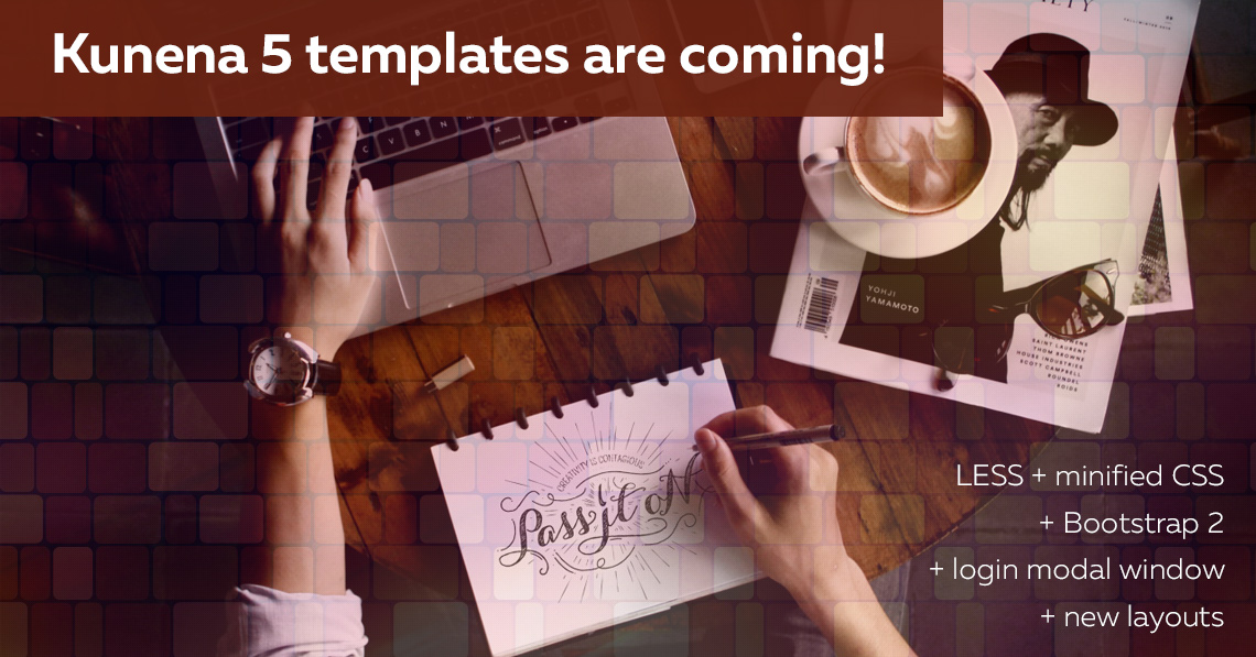 New series of templates for Kunena 5 are coming!