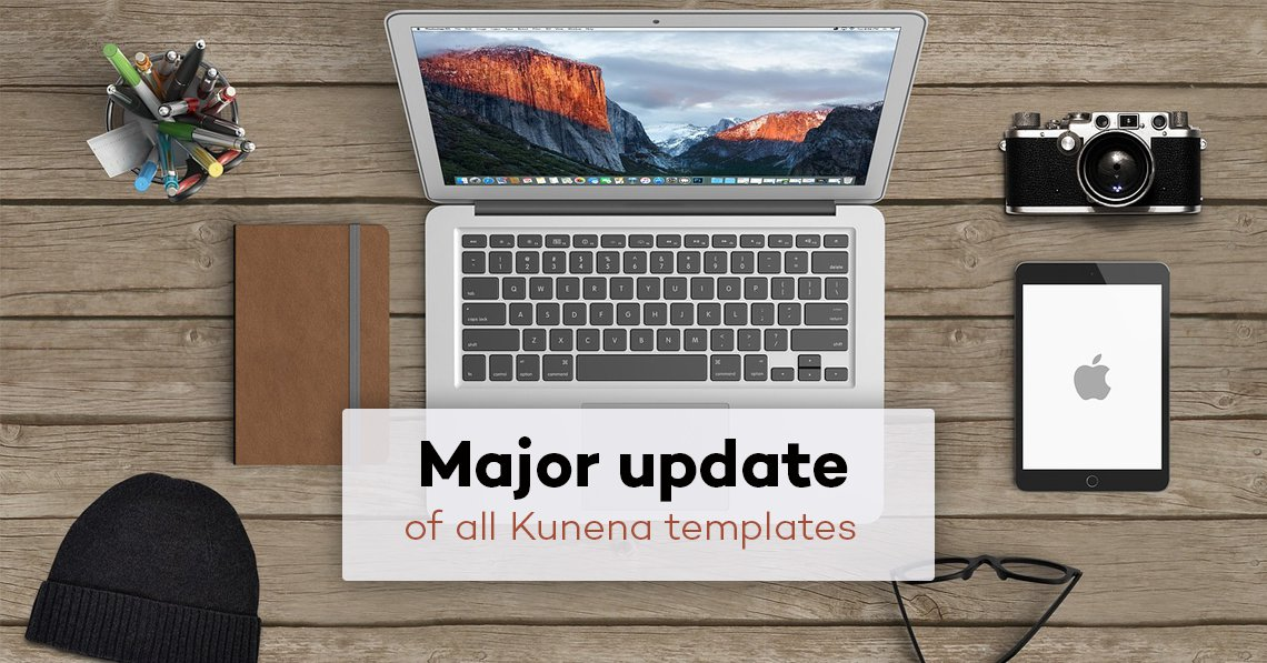 Major update of all Kunena templates
