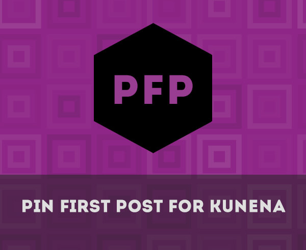 Pin First Post for Kunena