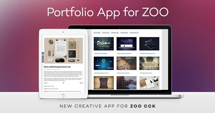 Portfolio App for ZOO released