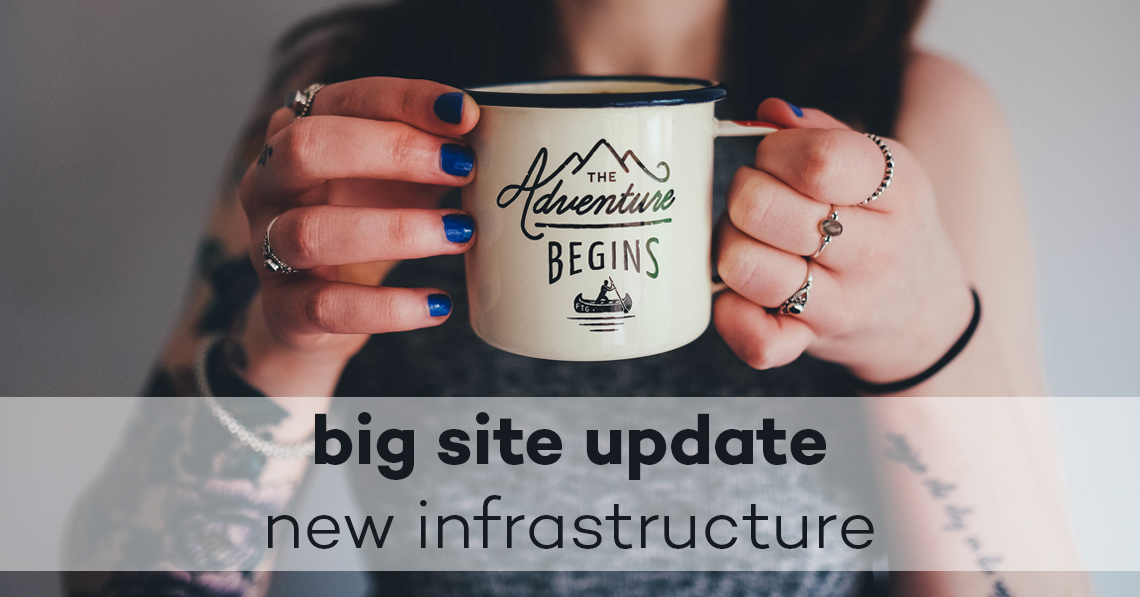 RoundTheme: big site update and new infrastructure