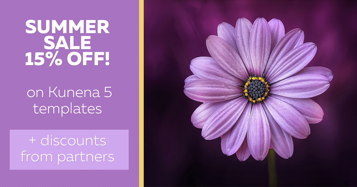 Summer Sale 15% OFF! Discounts from partners