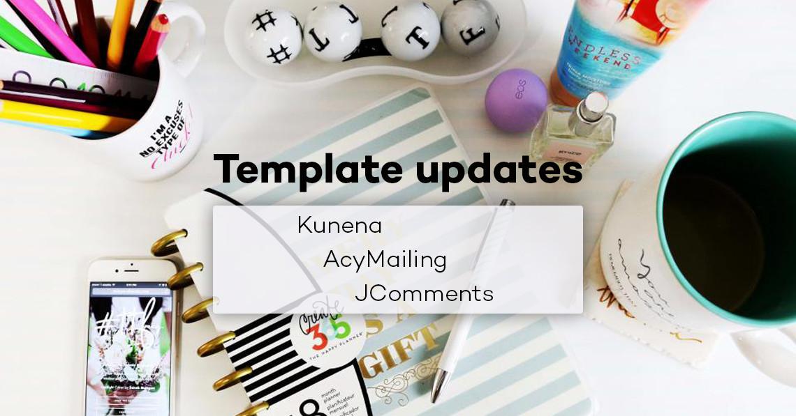 Summary Template Updates